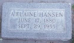 Annie Elaine <I>Smith</I> Hansen