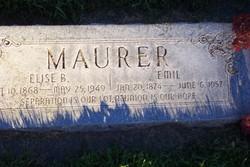 Elsie <I>Bachofen</I> Maurer