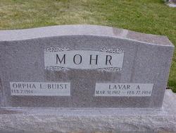 Lavar A Mohr