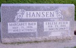 Margaret May <I>Baer</I> Hansen