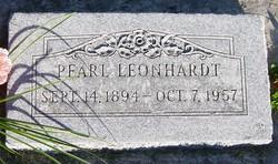 Pearl <I>King</I> Leonhardt