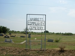 Harriett Community Cemetery