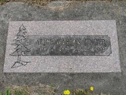 Alice Marion Unger
