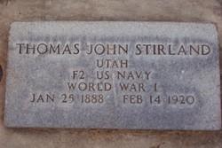 Thomas John Stirland