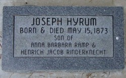 Joseph Hyrum Rinderknecht