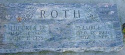 Theckla <I>Dietche</I> Roth