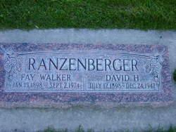 "Maud LaFay ""Fay"" <I>Walker</I> Ranzenberger"