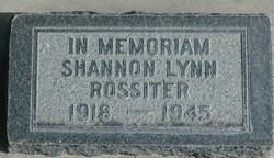 Shannon Lynn Rossiter