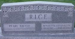 Mahlon Franklin Rice