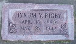 Hyrum Yates Rigby