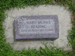Mary <I>Monks</I> Reading