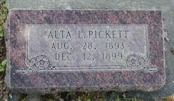 Alta Lucile Pickett