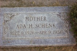 Ada <I>Hardman</I> Schenk