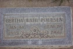 Bertha Wahl Poulsen