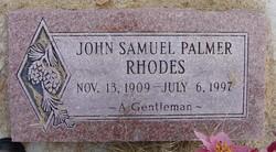 John Samuel Palmer Rhodes