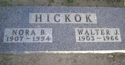 "Sigrid Elnora ""Nora"" <I>Bendickson</I> Hickok"