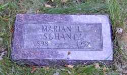 Marian L. <I>Cameron</I> Schantz