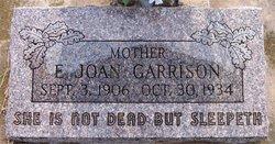 E. Joan Garrison