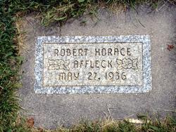 Robert Horace Affleck