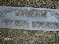 "Catherine Elizabeth ""Katie"" <I>Jones</I> Taylor"