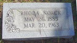 Rhoda Hiner <I>Ratliff</I> Noack