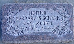 Barbara Carolina <I>Schaller</I> Schenk