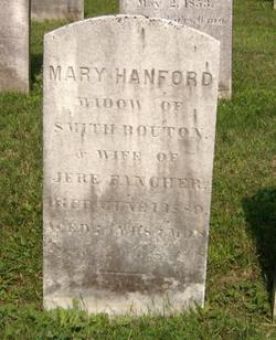 Mary <I>Hanford</I> Bouton