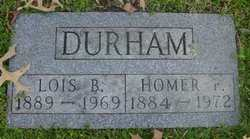 Lois Bell <I>Horn</I> Durham
