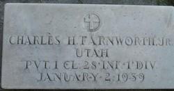 Pvt Charles H Farnworth, Jr