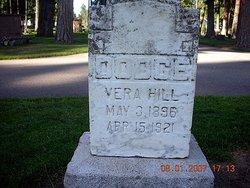 Vera <I>Hill</I> Dodge