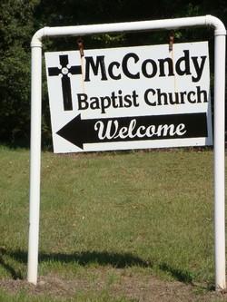 McCondy Baptist Church Cemetery