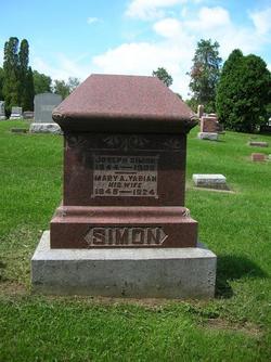Mary Ann <I>Yarian</I> Simon