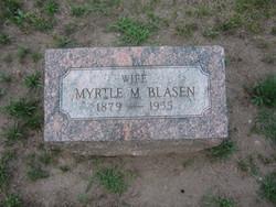 Myrtle May <I>Decker</I> Blasen