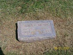 Emma Elizabeth <I>Schwab</I> Brown