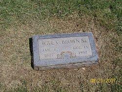 "William Collins ""Will"" Brown Sr."