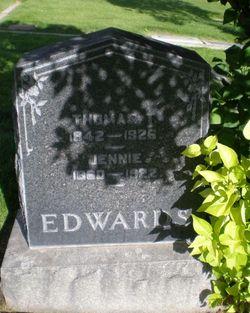 Jennie <I>Whittier</I> Edwards