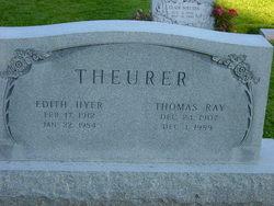 Edith <I>Hyer</I> Theurer