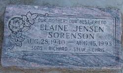 Elaine <I>Jensen</I> Sorenson
