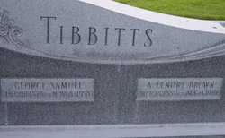 Annie Lenore <I>Brown</I> Tibbitts