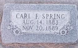 Carl Frederick Spring