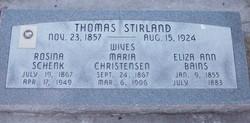 Maria <I>Christensen</I> Stirland