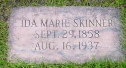 Ida Marie E G Skinner