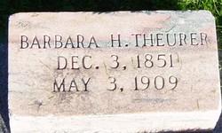 Barbara <I>Hubmann</I> Theurer