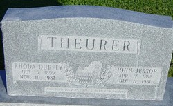 Rhoda <I>Durfey</I> Theurer