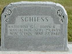 Katherine <I>Gessel</I> Schiess