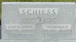 Mary Katherine <I>Spring</I> Schiess
