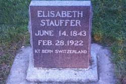 Elizabeth <I>Luthi</I> Stauffer