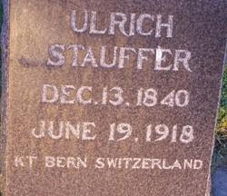 Ulrich Stauffer