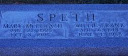 "Willie Frank ""Bill"" Speth"