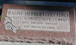 Ralph Herbert Vetterli